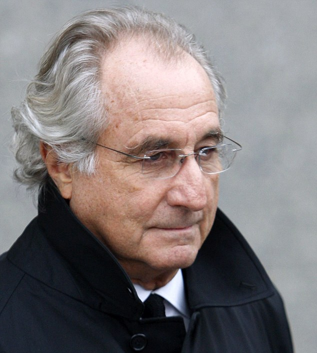 Remorse: Jailed financier Bernie Madoff says he is racked with guilt over the death of his son