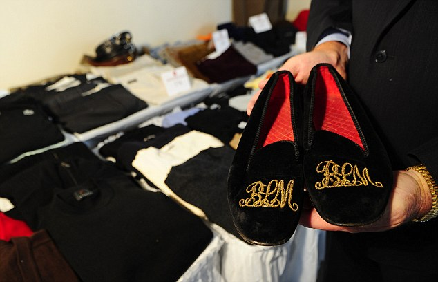 Payback: Bernie Madoff was forced to sell his slippers to help compensate his victims