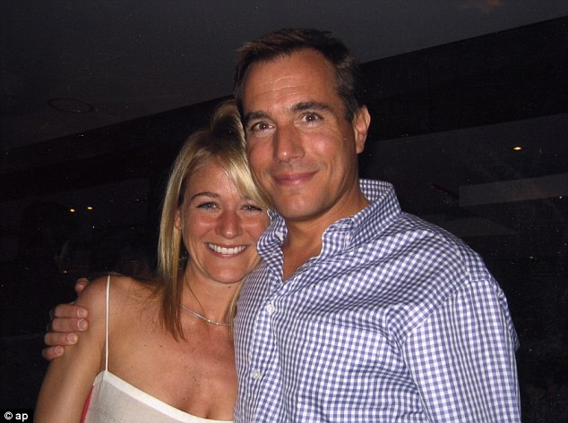 Tragic: Bernie Madoff's eldest son Mark with his wife Stephanie. Mark hanged himself after Madoff was jailed
