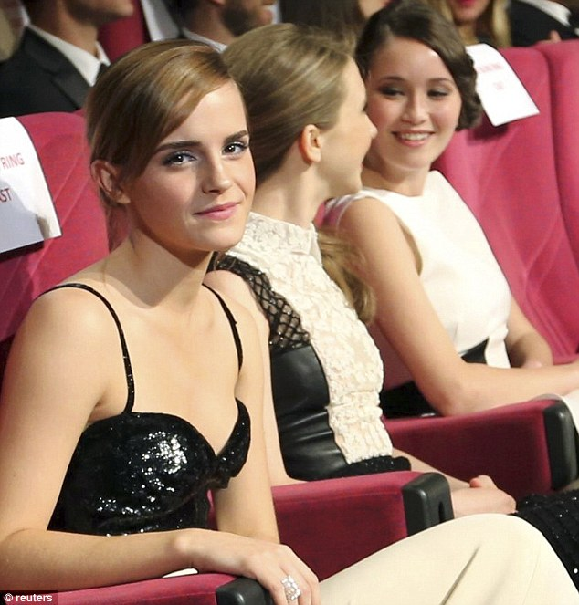 Emma Watson had Cannes eating out of her hand yesterday