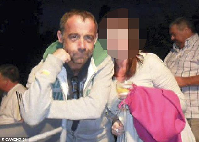 Night out: Le Vell posing with another female friend in a picture posted on Facebook