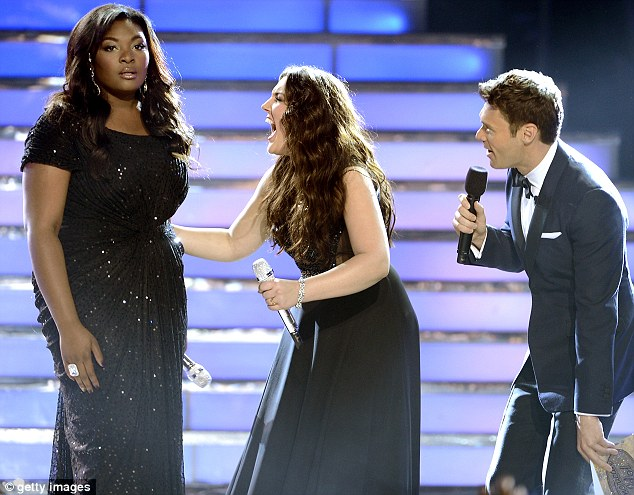 Finally those words! Ryan revealed that she had beat Kree to the top spot thanks to viewer votes