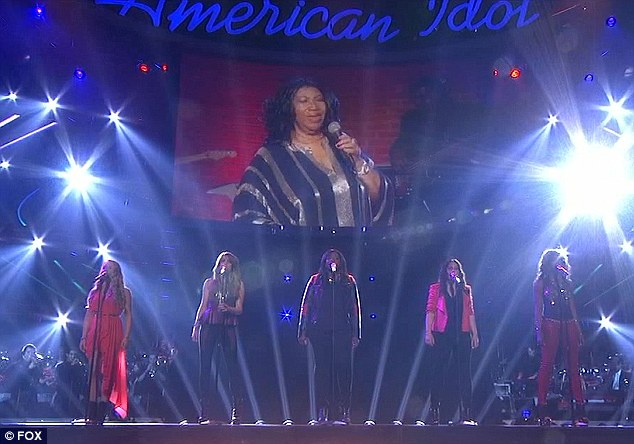 Gut feeling: Aretha told Candice she was a winner even before the result was said