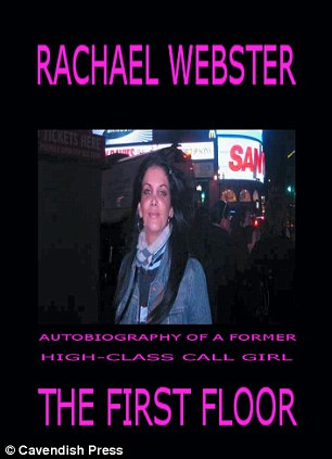 The book cover for Rachael's autobiography