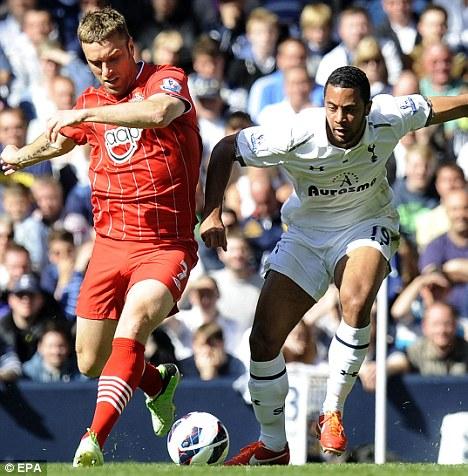Top scorer: Rickie Lambert (left) has scored 14 goals for Southampton