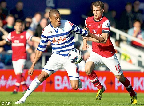 Star showing: Despite arriving in January, Loic Remy (left) is QPR's top goal scorer with six strikes