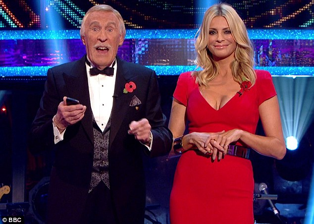 Screen chemistry: Sir Bruce will once again host alongside Tess Daly, while Claudia Winkleman will take his place during his three absences from the live shows