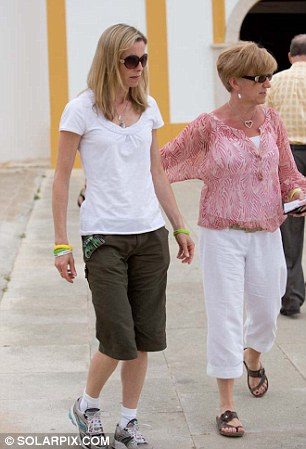 Kate McCann and her mother