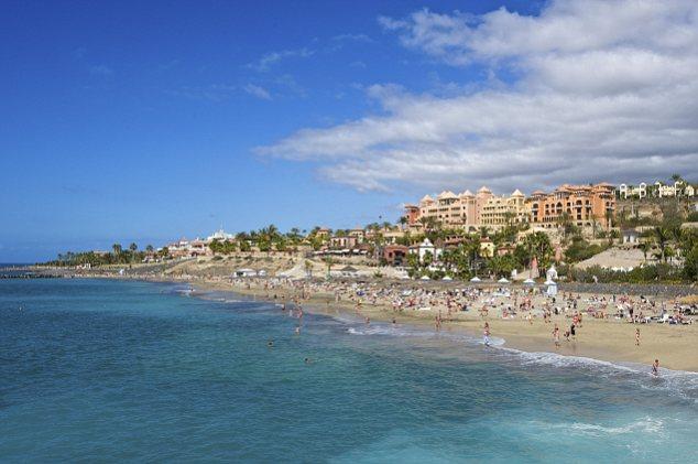 Playa del Duque, Costa Adeje, Tenerife