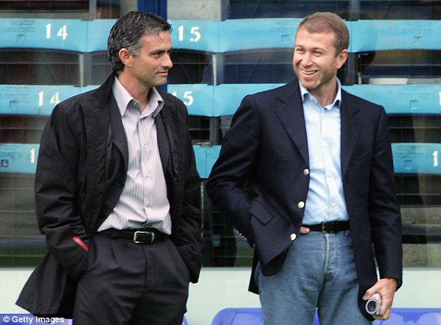 Spending spree: Abramovich is set to give Mourinho £100m to spend this summer