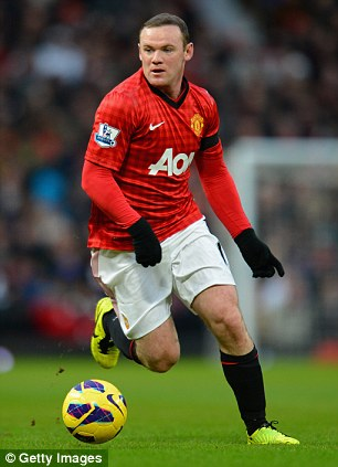 On the list: Manchester United's Wayne Rooney is also wanted by Mourinho
