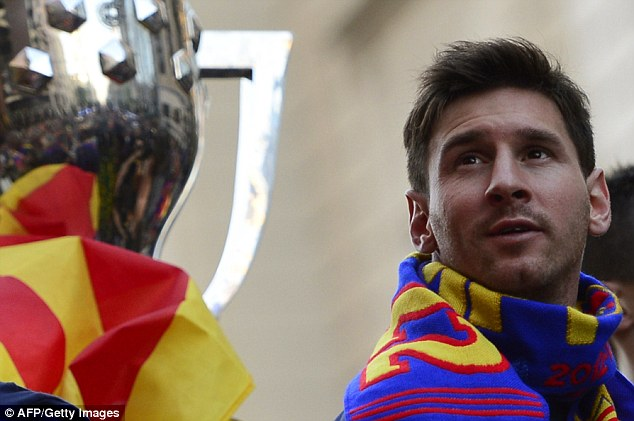 Top talent: Even Messi wouldn't be enough to drag some fans to the Olympic Stadium