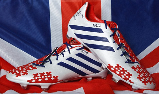 'Special moment': Beckham thanked sponsors adidas for his final boots