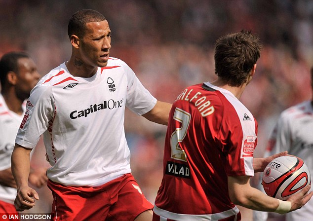 Forest favourite: Wilson made 123 appearances for Nottingham Forest from 2007 to 2011