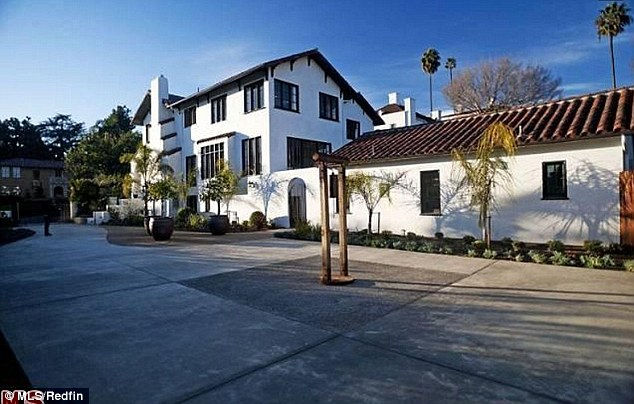 Prize location: Hall's home is located in one of the most wanted areas of Los Feliz