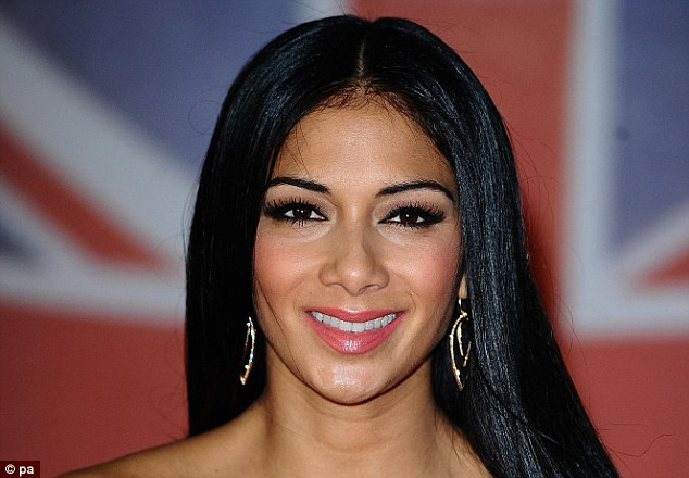 The eyes have it: A poll on the perfect celebrity body revealed many find the features of American singer Nicole Scherzinger attractive