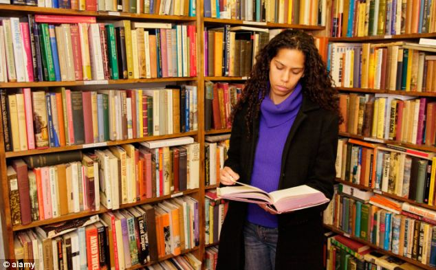 The different ages men and women are most interested in books is the biggest gender gap - 28 years