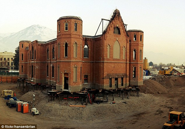History preserved: The Provo Tabernacle is a historic treasure for the Church, originally constructed from 1883 to 1898 at a cost of $100,000
