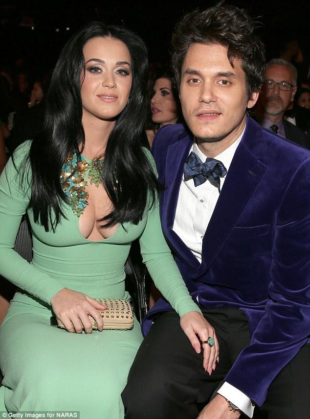 Broke up: Katy (picture February) split from musician John Mayer in April