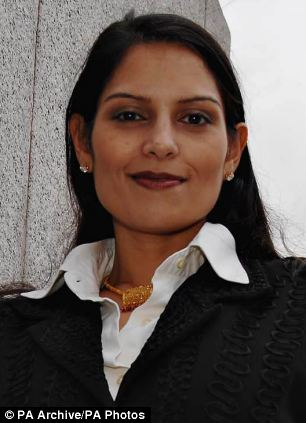 Tory MP Priti Patel unearthed details of the bizarre allowance through parliamentary questions