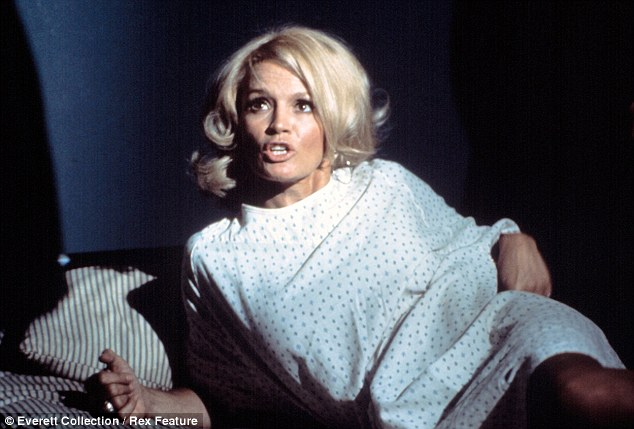 Crime buster: Angie played Sgt. Suzanne 'Pepper' Anderson on the 1970s crime series Police Woman