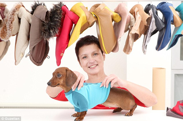 Wardrobe: The coutique offers a range of canine outfits from leather jackets to t-shirts and raincoats