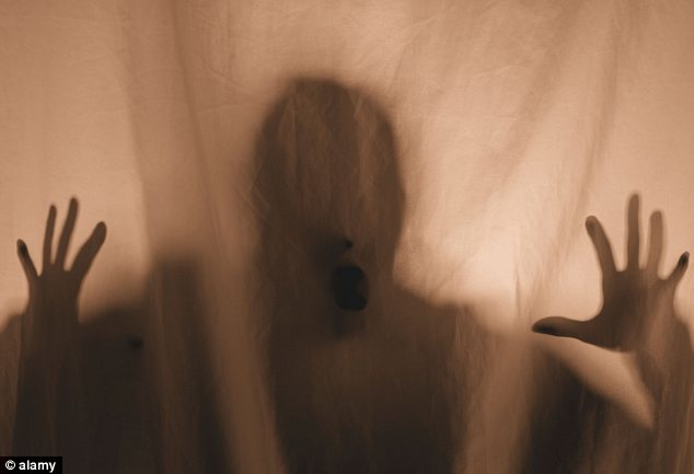 Paranormal activity: The father, from Tasmania, Australia, originally rigged up the camera to capture ghosts he thought were haunting his house