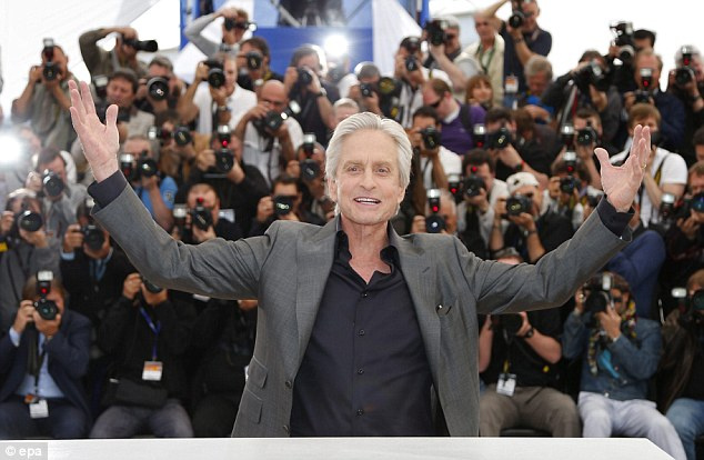 Take a bow: But Michael Douglas was shunned at the awards