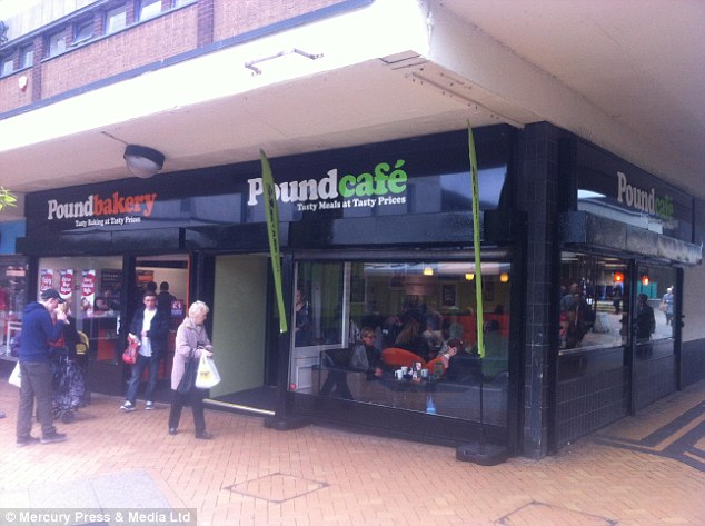Poundcafe: A new budget cafe in deprived Kirkby, Merseyside, which has one of the highest unemployment figurs in the country, is offering customers a full English breakfast for just £1