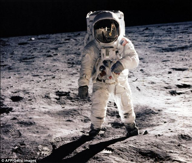 Nasa's Apollo 11 space mission was the first time humans had landed on the moon.