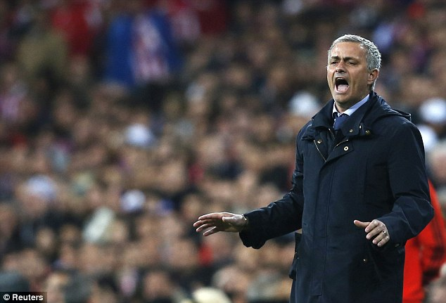 Back in town: Jose Mourinho is likely to return to Chelsea at the end of the season