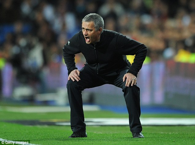 Over and out: Jose Mourinho has left his post at Real Madrid after three seasons at the Bernabeu