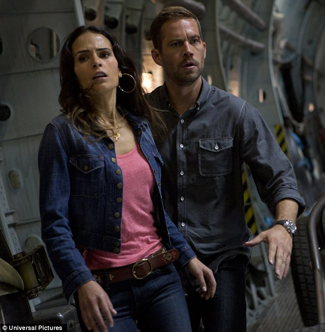 Sitting it out: Noticeably absent were Jordana Brewster and Paul Walker. Fast And Furious 6 hits cinemas internationally on November 24