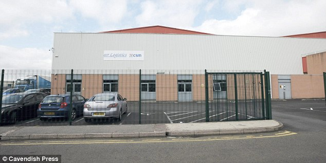 Pioneer International Logistics Plc, loacted in Trafford Park in Greater Manchester, where Niall worked and died