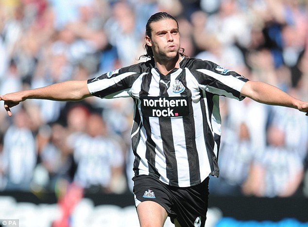 Return? Newcastle inserted a clause in Carroll's deal to Liverpool that they can bring him back on the cheap