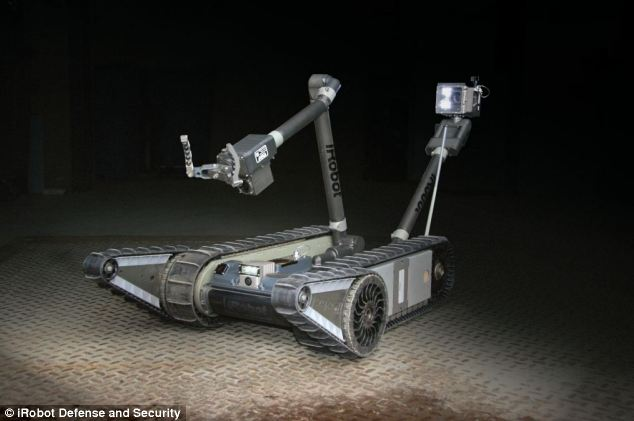 The Brazilian government have spent $7.2 million (£4.2 million) on iRobot 501 PackBots to get the country ready for the Pope's visit next year, and for the Rio Olympics in 2016.