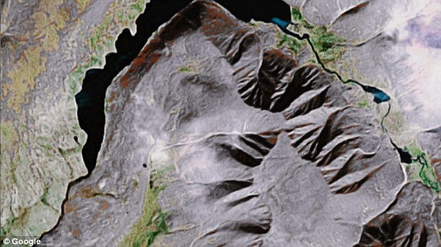 The Onformative Facetracker also discovered this image in the Magadan Oblast region of Russia.