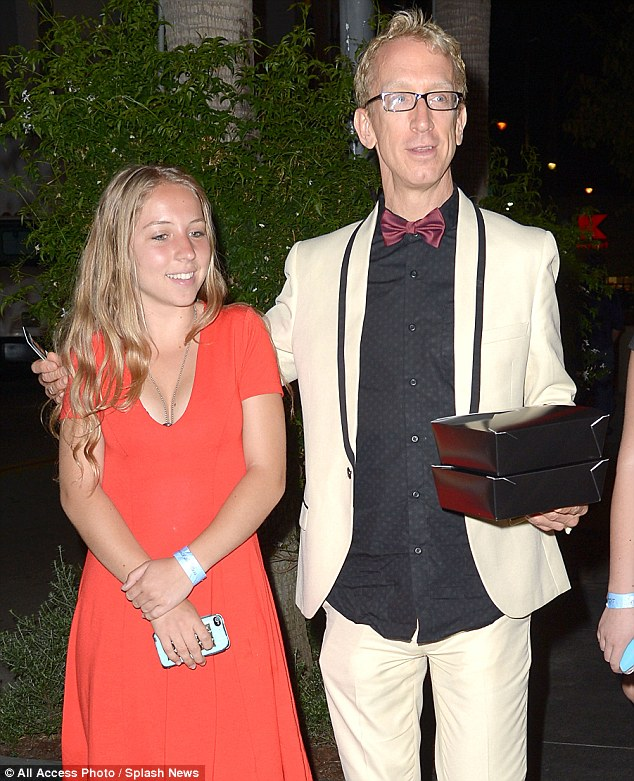 A proud dad, a proud daughter: Andy Dick's daughter Meg is a dancer herself