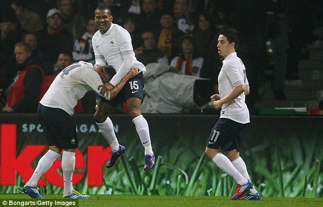 International: Malouda featured for France at Euro 2012 last year