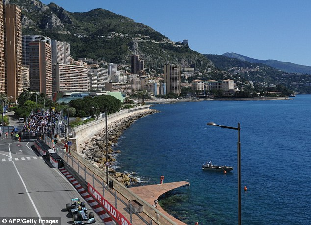 Picture perfect: Monte Carlo plays host to round six of this year's championship