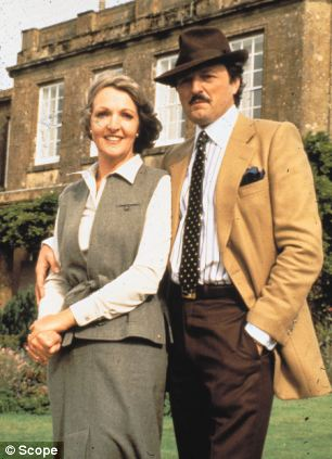 Penelope Keith with To The Manor Born co-star Peter Bowles