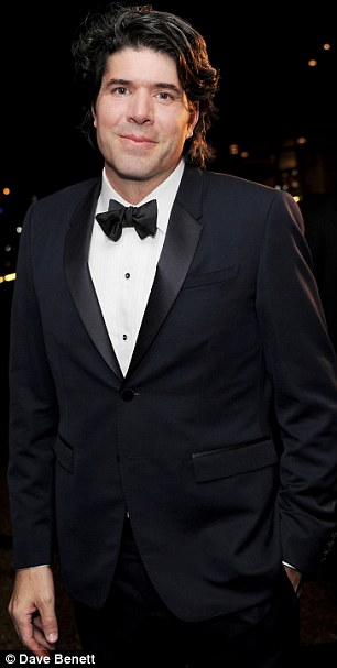 Suited and booted: Neal Dodson and J.C. Chandor were very smart