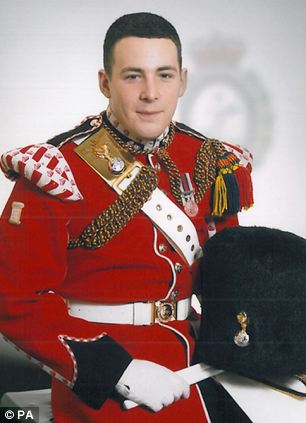 Drummer Lee Rigby was identified as the victim of yesterday's brutal attack