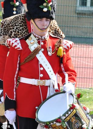 The 25-year-old was from the 2nd Battalion Royal Regiment of Fusiliers