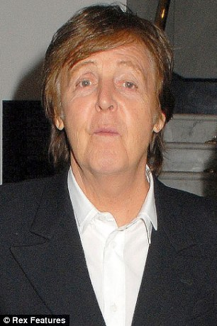Helping hand: Sir Paul McCartney has written to the court asking them to allow Ms Alyokhina to attend her hearing