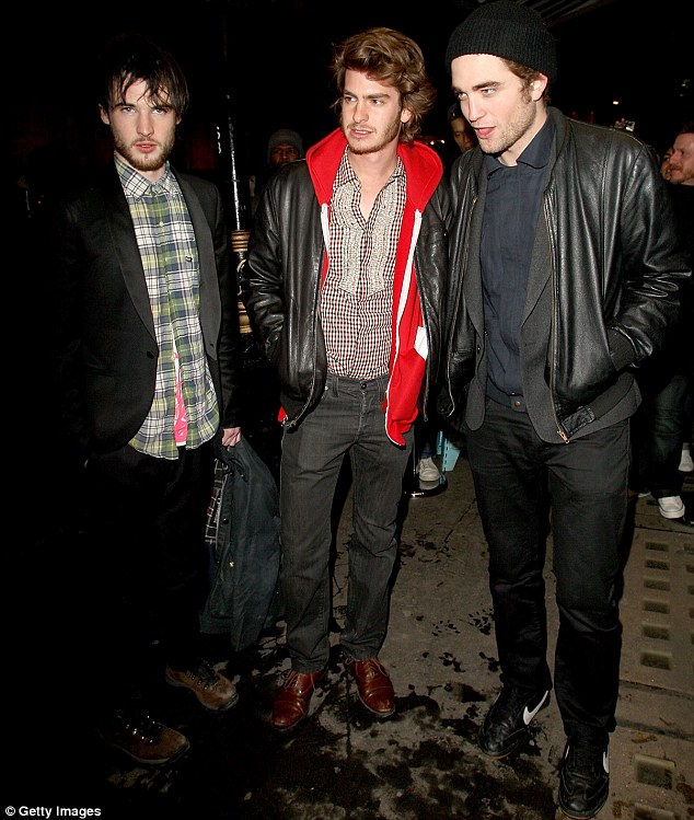 The Brit Pack: Tom and Andrew, along with Robert Pattinson, form part of the Brit Pack - a group of young British actors working Stateside. Here, they are seen together at an event in 2009