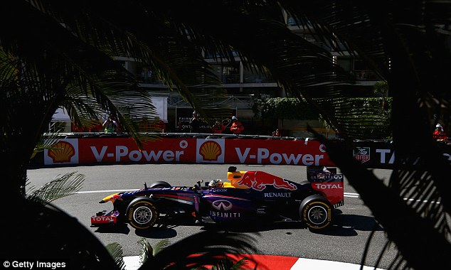 Life though a lens: Vettel is expected to be among the contenders this weekend