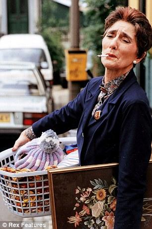 June Brown as Dot 'smokes-a-lot' Cotton