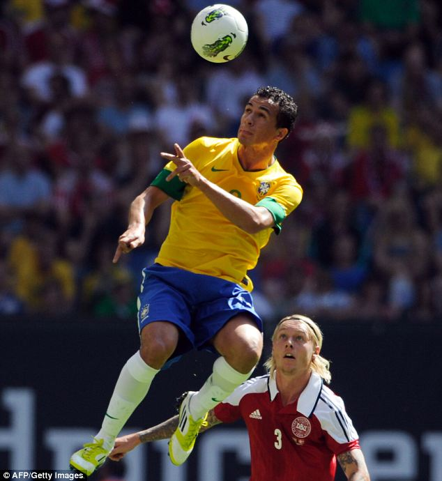 Rising star: Damiao is likely to make the Brazil squad for next year's World Cup
