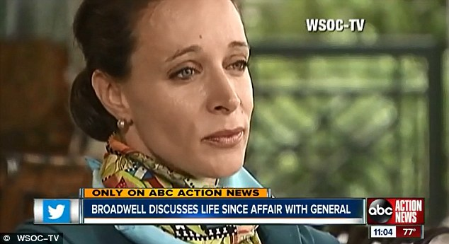 Paula Broadwell said: 'I have remorse for the harm that this has caused, the sadness it has caused my family and other families'